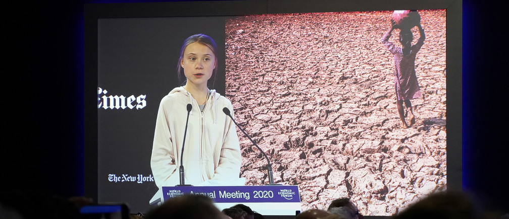 Greta Thunberg: Our house is still on fire and you're fuelling the flames!