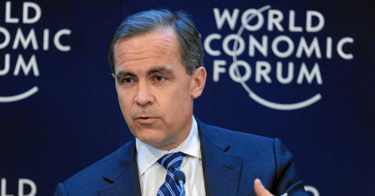 Mark Carney: 'We can't self-isolate from climate change'