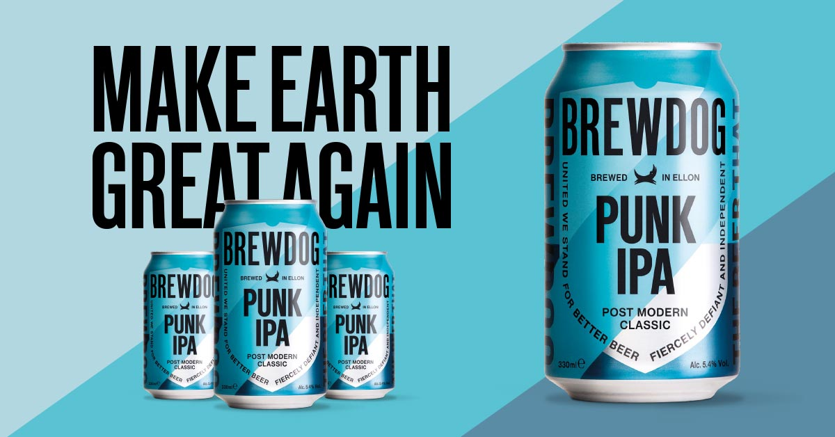 Tree-planting punks: First carbon-negative beer business