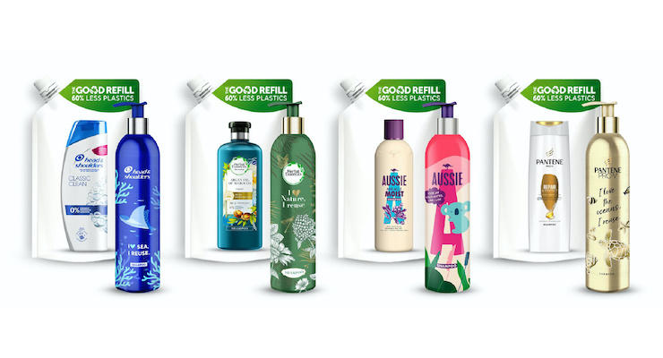 P&G to launch refillable shampoo bottles in 2021