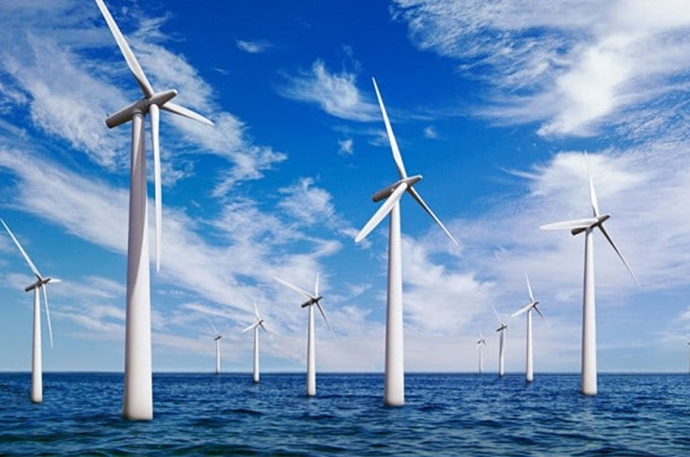 An offshore wind farm with the ability to 'power one million households' is fully up and running