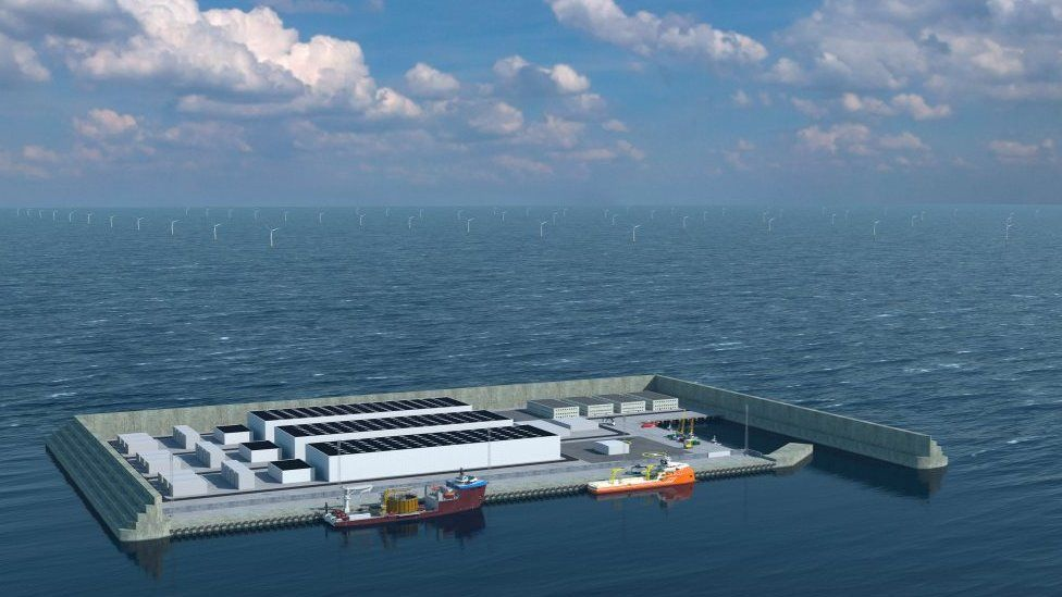 Denmark to build 'first energy island' in North Sea