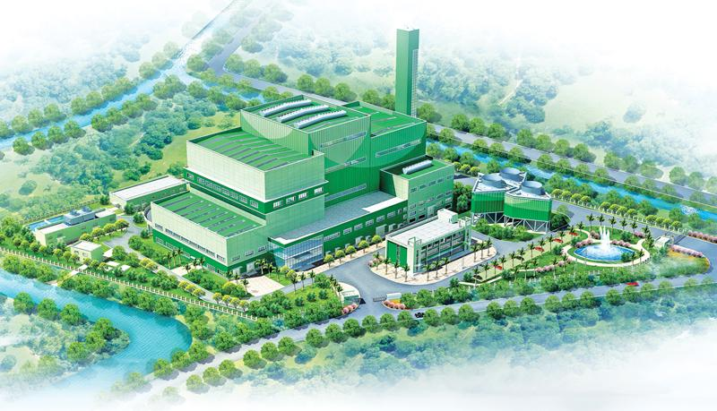Sri Lanka's first solid waste power plant to open on the 17th of February 2021
