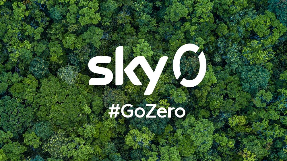'Sky Zero Footprint Fund': Broadcaster launches £2m sustainable media prize