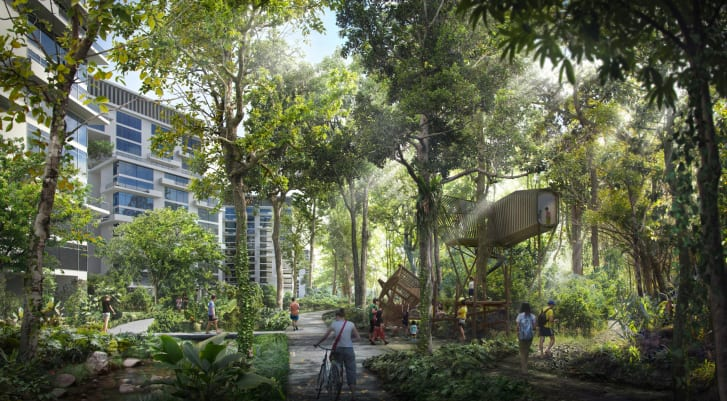 Singapore to get an all new eco city, in Tengah